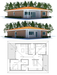 Affordable Home Plan CH219