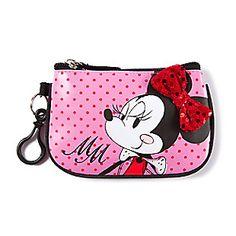 Minnie Mouse Polka Dot Coin Purse