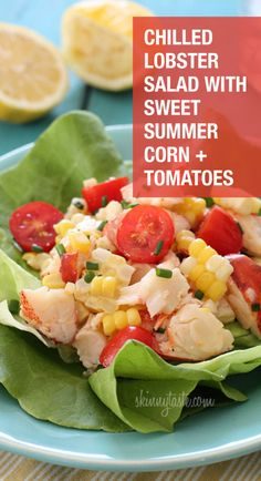 The sweet corn, grape tomatoes and garden herbs create a delicious and fresh taste for you to enjoy. Check out the recipe on our site today!