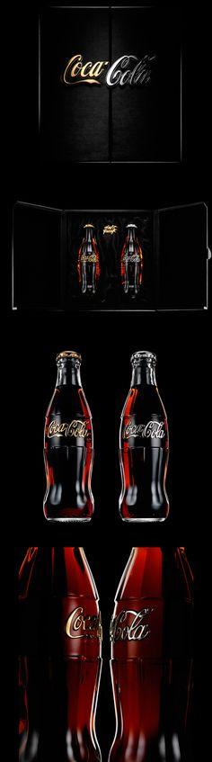 Coca Cola - Daft Punk Edition   #bottledesign #packaging #cola
