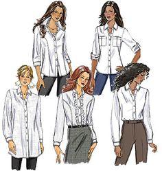 Pattern Reviews> Butterick> 5526 (Misses' Shirt)