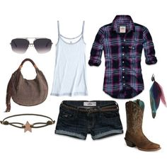 cowgirl (girls,dress,girl,fashion,style,clothes,polyvore,our picks)