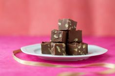 chocolate fudge with pecans