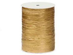 Nashville Wraps Paper Raffia Ribbon 100 Yards Metallic Gold. Out of them.  REFUND