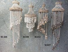 Seashell Chandelier, Chandelier Art, Chandeliers, Seashell Art, Seashell Crafts, Shell Decorations, Home Wedding Decorations, Macrame Wall Hanging Diy, Seaside Decor