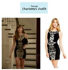"On the blog: Charlotte Grayson's (Christa B. Allen) colorblock leopard print dress | Revenge – ""Addiction"" (Ep. 317) #tvstyle #tvfashion #outfits #fashion"