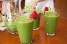 Green smoothies are not just delightful refreshments but they're in addition wonderfully helpful for physical fitness. Green smoothie to your day can totally help your health. Most people don't get enough leafy greens, and drinking a green smoothie is a great way to get your greens without needing to taste or chew them. Green smoothies make the perfect way to sneak extra greens into children and green phobic adults.