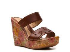 Born Women's Shavon Wedge Sandal