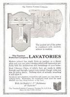 Trenton Potteries Lavatories 1915 Ad Picture