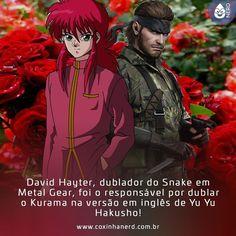 #CoxinhaCuriosa Ia morrer sem saber disso!   #TimelineAcessivel #PraCegoVer  Imagem Kurama de Yu Yu Hakusho com Naked Snake de Metal Gear Solid 3 com a legenda: David Hayter dublador do Snake em Metal Gear foi o responsável por dublar o Kurama na versão em inglês de Yu Yu Hakusho!   TAGS: #coxinhanerd #nerd #geek #geekstuff #geekart #nerd #nerdquote #geekquote #curiosidadesnerds #curiosidadesgeeks #coxinhanerd #coxinhaseries #series #seriados #viciadosemseries #dicadeserie #anime #animestuff…