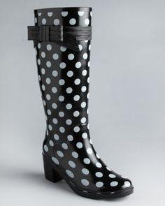 tall boots cute rain boots