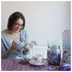 "Day 2 of #meetthemakerweek is ""you"" - this is me! I'm Victoria and I'm the one woman machine behind Butterfly Crafts (but I do have amazing assistance from my husband and parents). I've always loved Crafts and creating but even more so in the past couple of years as I have dealt with acute anxiety creative time helps me relax. I started up my business in 2008 as a way to generate a small income from things I just loved to make and see it as my way to spread the love for handmade goodness…"