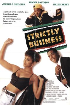 """Strictly Business"" movie poster, 1991."