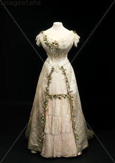 Robe de mariée 1893 MODE Belle Epoque.. - Le fil des jours