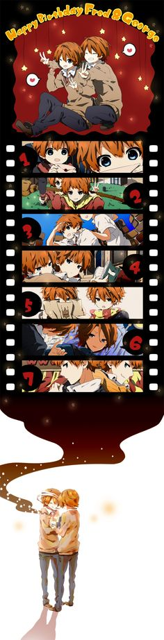 Weasley Twins/#1054785 - Zerochan - FRED ... Excuse me I need to go sob in a corner now.