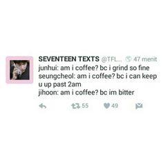 Seventeen coffee meme