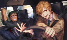 Happy Tree Friends, Magic Kaito, Cartoon Movies, Cartoon Characters, Vocaloid, Anime Manga, Anime Art, Anime Siblings, Manga English