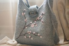 Ravelry: Felted Bag #1177 pattern by Lion Brand Yarn