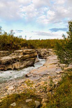 Nördlicher Kungsleden: Abisko Wasserfall