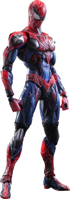 "Spider-Man Variant Collectible Figure Product Details Expected to Ship Sep 2015 - Oct 2015  License Marvel Scale Collectible Figure Manufacturer Square Enix Product Size 10"" H (254mm) x 4"" W (101.6mm) x 2"" L (50.8mm)*     Tabletop View » Dimensional Weight TBD Int'l Dim. Weight TBD Product Sku 902404 UPC 6 62248 81630 2   ®... #{T.R.L.}"