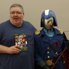 Hey, Jim Beard, look who I met! COBRA!!!!!!  The Joy of Joe