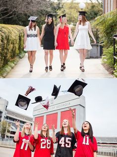 These 4 UGA Delta Gamma seniors contacted me about a group photoshoot to celebrate their upcoming graduation and I LOVED their session! Group shoots are a great way to get both individual senior portraits as well as photos with your best college friends. Check out the blog to see more: http://wp.me/p5smQn-1XL