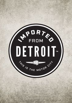 This Imported from Detroit Round Decal features the Chrysler wings and the fist that represent the mentality of this city. Using promo code PINIT4IFD004 you can receive a 10% discount on this product. The promo code is only available for the first 50 uses.