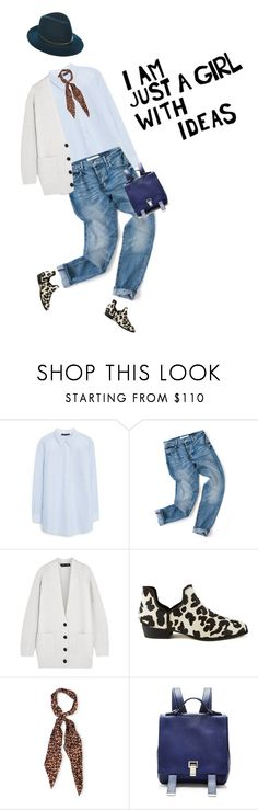 """""""I'm just a girl with ideas"""" by girl-with-ideas ❤ liked on Polyvore featuring moda, Violeta by Mango, Proenza Schouler, Senso, Yves Saint Laurent, Janessa Leone, women's clothing, women's fashion, women e female"""