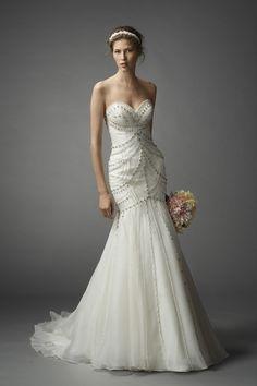 Watters Tara gown #weddingdress #spring2015