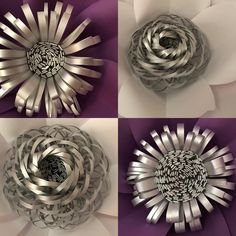Paper Flowers Centers on point. Big Paper Flowers, Paper Flower Decor, Paper Flower Backdrop, Giant Paper Flowers, Paper Flowers Diy, Felt Flowers, Handmade Flowers, Flower Crafts, Flower Decorations