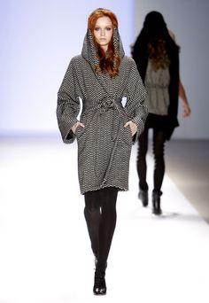 Hooded Wrap Coat - Free tutorial from Weekend Designer