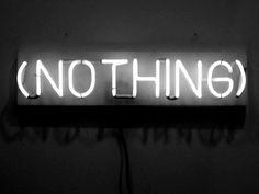 Joseph Kosuth_Nothing