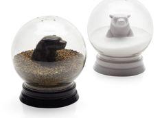 Snowglobe Salt & Pepper Set | Serveware | Tabletop-and-bar | Z Gallerie