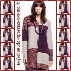 Concreto mini  dress patchwork