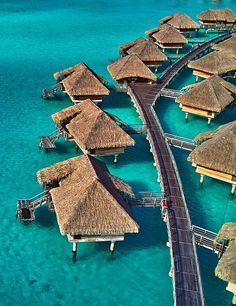 InterContinental Bora Bora Resort & Thalasso Spa Tucker Tucker Ockert here is our next 'you & me' vacation destination! Dream Vacation Spots, Vacation Places, Dream Vacations, Places To Travel, Vacation List, Vacation Destinations, Places Around The World, Oh The Places You'll Go, Places To Visit