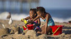 Building Sandcastles in Ocean City