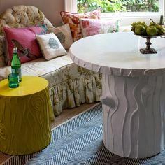 Stray Dog Designs - Stump Stool - seating - Furniture