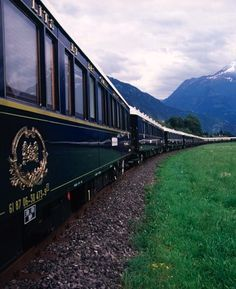 Venice Simplon-Orient-Express - I rode this from Paris to Venice to Vienna! Amazing!