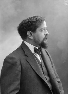 Claude Debussy (1862 – 1918) -Impressionist (by Nadar)