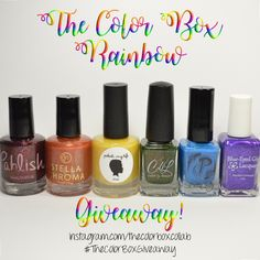 The Color Box: Rainbow #thecolorboxgiveaway