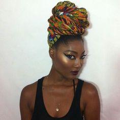 fckyeahprettyafricans:  Noelle bonner Ghanaian