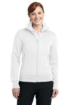 Nike Golf - Ladies N98 Track Jacket in White. 483773. $119.98 each (S-XL). #trackjacket #ladies #nike #fashion #white