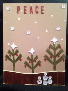 Stampin' Up! demonstrator Lorraine W's project showing a fun alternate use for the Watercolor Winter Simply Created Card Kit.