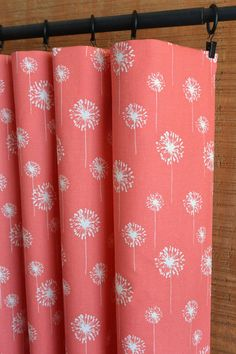 Coral Curtains | Wayfair | Master Bedroom | Pinterest | Coral ...