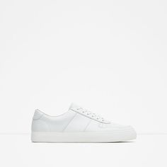 Image 1 of BROGUE DETAIL SNEAKERS from Zara