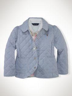 seersucker quilted jacket