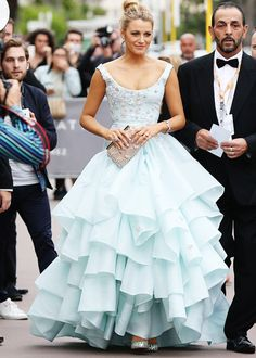 Blake Lively in Vivienne Westwood Couture, Cannes Film Festival