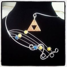 Song of Storms Zelda Themed Necklace by EpicNecks on Etsy, $40.00