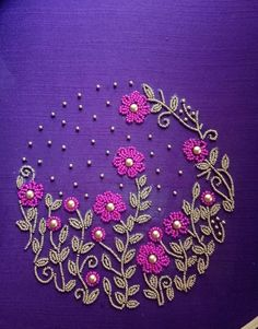 Work design for details embroidery embroidery works hand embroidery designs embroidery patterns work design magazine editorial . Handmade Embroidery Designs, Embroidery Neck Designs, Bead Embroidery Patterns, Embroidery Works, Simple Embroidery, Modern Embroidery, Embroidery On Kurtis, Hand Embroidery Dress, Kurti Embroidery Design