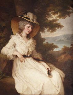 Angelica Kauffmann, Lady Elizabeth Foster 1784